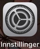 Iphone Innstillinger